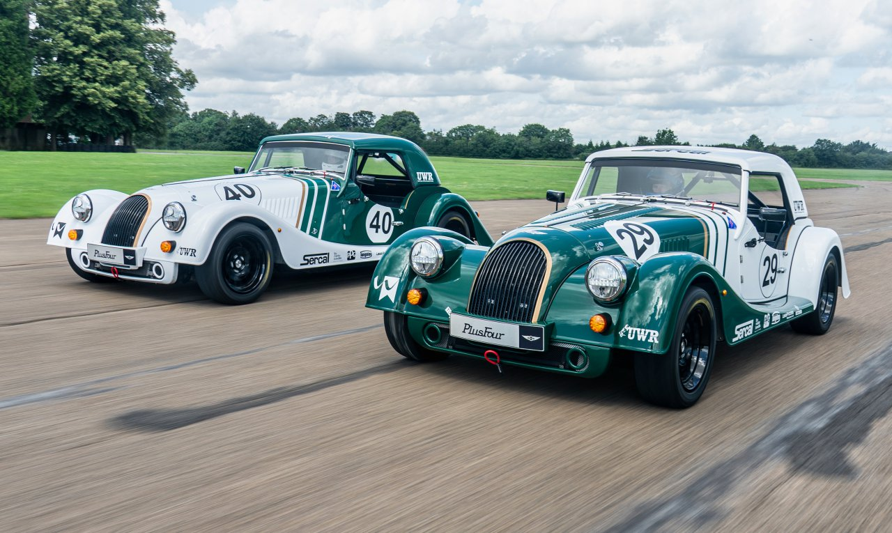Morgan, British university develop Plus Four for racing